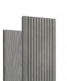 Террасная доска дпк полнотелая TERRADECK MASSIVE 3D цвет серый (Россия)