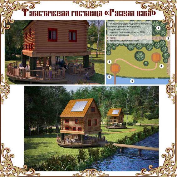 Туристическая гостиница «Русская изба»