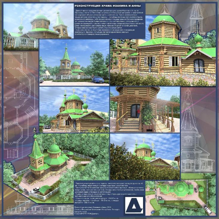 Реконструкция храма Иоакима и Анны